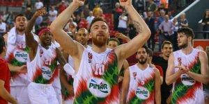 Karşıyaka Avrupa'da liderlik için maça çıkıyor