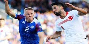 Türkiye - İzlanda maçında ilk 11'ler belli oldu