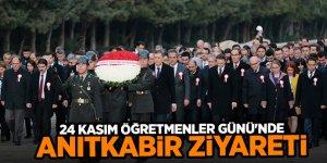 Bakan Selçuk'tan 24 Kasım Öğretmenler Günü'nde Anıtkabir ziyareti