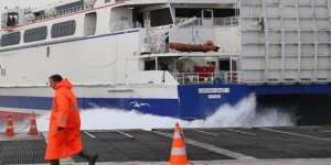 İstanbul'da bazı seferler iptal edildi