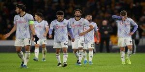 Beşiktaş Avrupa'ya yenilgi ile veda etti