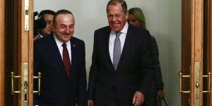 Çavuşoğlu ve Akar'ın Rus mevkidaşları ile Libya konulu toplantısı başladı