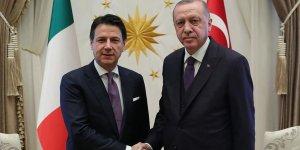 Erdoğan, İtalya Başbakanı Conte'yi kabul etti