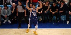 Furkan Korkmaz kariyer rekoru kırdı, Philadelphia kazandı