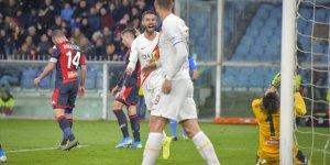 Roma'da Cengiz Ünder Genoa maçını boş geçmedi!