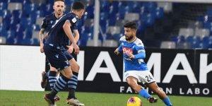 Napoli son şampiyon Lazio'yu eledi