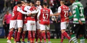 Sporting Lizbon, kupa'da Braga'ya elendi