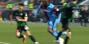 Trabzonspor'da Nwakaeme cezalı duruma düştü!