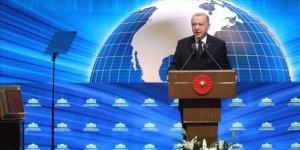 Cumhurbaşkanı Erdoğan Millet Kütüphanesi'nin açılış töreninde konuştu
