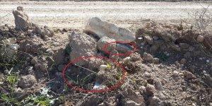 PKK/YPG'nin Rasulayn'da tuzakladığı 20 kilogramlık EYP imha edildi