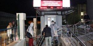 Irak'tan yurda getirilen 334 Türk işçi Kütahya'da yurda yerleştirildi