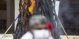 Bu yıl sembolik Kakava ateşi yakıldı