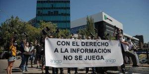 İspanya'da foto muhabirlerinden La Liga ve kulüplere protesto