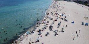 Antalya sahillerinde bayram sonrası sakinlik yaşandı