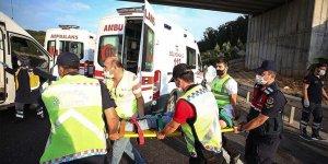 Kuzey Marmara Otoyolu'da otobüs kazası: 5 ölü