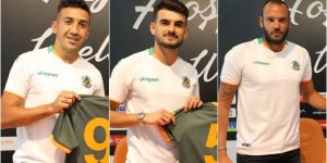 Aytemiz Alanyaspor 3 futbolcuyla sözleşme imzaladı