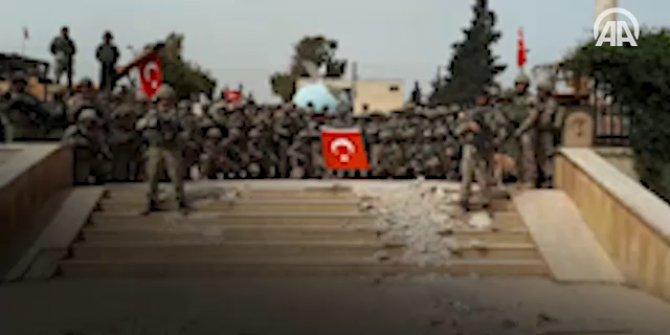 Afrin'de Mehmetçikten komando andı