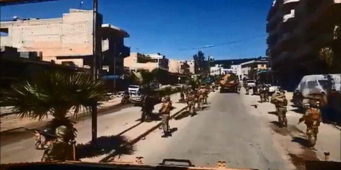 TSK paylaştı: Afrin bugün daha huzurlu