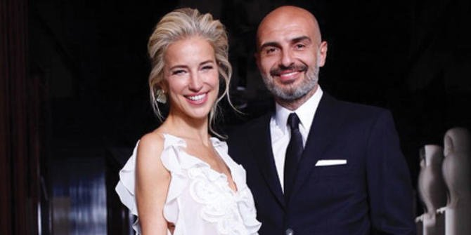 Burcu Esmersoy New York'ta Berk Suyabatmaz ile evlendi