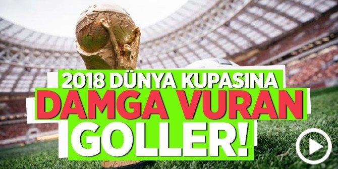 2018 Dünya kupasına damga vuran goller!