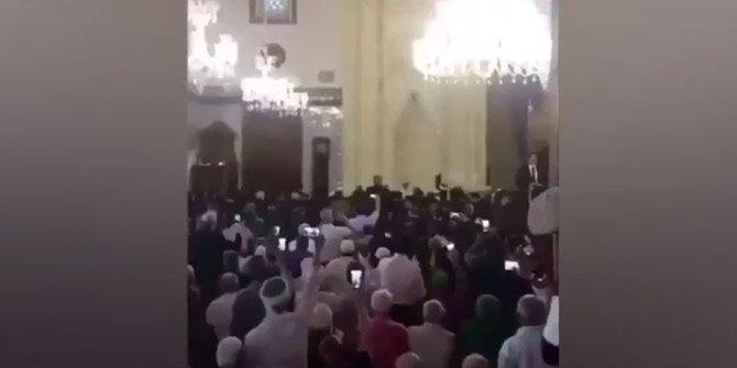 Başkan Erdoğan'dan Hacıbayram'da Kur'an tilaveti