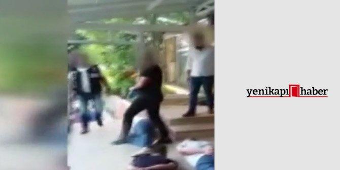 Polis kamerasından Oktar'ın villasına baskın anı