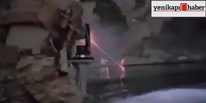 Kahraman askerlerimizden ''Mini Gun'' şov