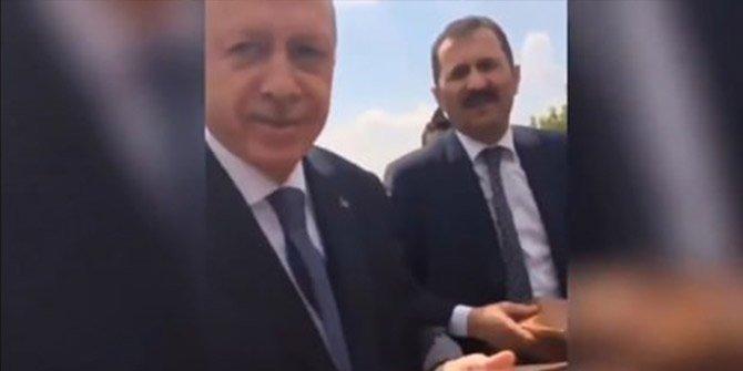 Başkan Erdoğan'ın en samimi anı objektiflerde!