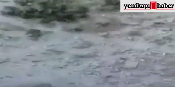 Polisi şehit eden hain PKK'lı teröristlerin öldürüldüğü an