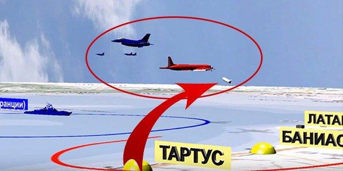 Rusya, uçağın düşüş anını canlandırdı