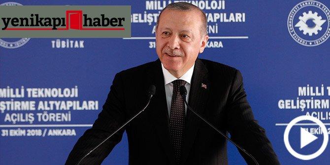 """Başkan Erdoğan: Yerli hava savunma sisteminin adı """"SİPER"""""""