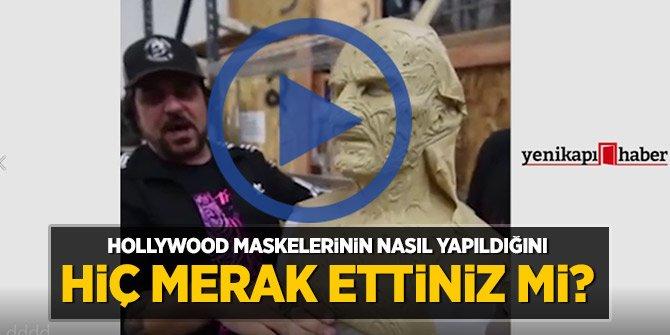 Hollywood maskelerinin nasıl yapıldığını hiç merak ettiniz mi?