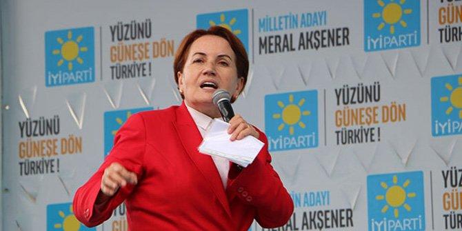 Meral Akşener'den Trabzon'da tarihi gaf