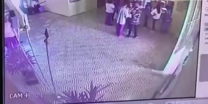 Brezilya'daki korkunç saldırının görüntüleri yayınlandı
