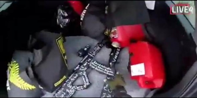 Yeni Zelanda'daki camiye saldırı anı