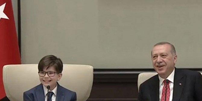 Minik Cumhurbaşkanı'ndan Kılıçdaroğlu sorusuna gülümseten cevap