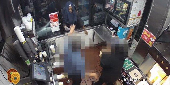 ABD'de kasa açmak isteyen hırsız rezil oldu