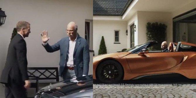 BMW'den Mercedes'e muhteşem gönderme