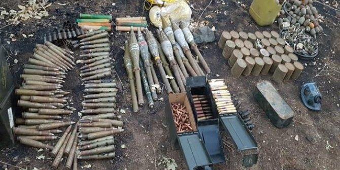 Irak'ın kuzeyindeki terör sığınakları imha edildi! İşte o görüntüler