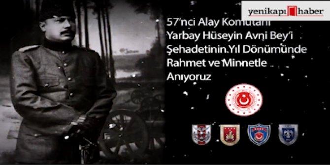 'Yarbay Hüseyin Avni Bey'