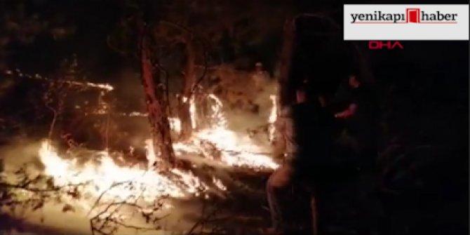 Eskişehir'deki yangın kontrol altına alındı!