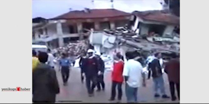 17 Ağustos depremin hemen sonrasında Sakarya'da çekilen görüntüler
