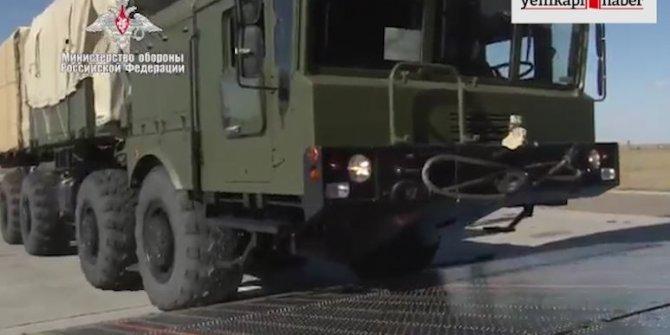 Rusya, S-400 sevkiyatının görüntülerini yayınladı