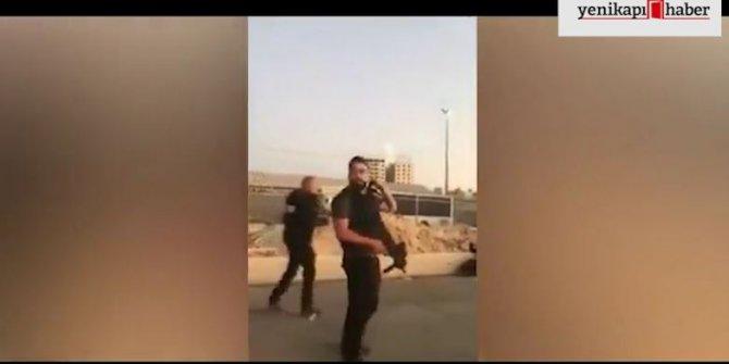 Filistinli kadını vurup ölümünü seyrettiler!