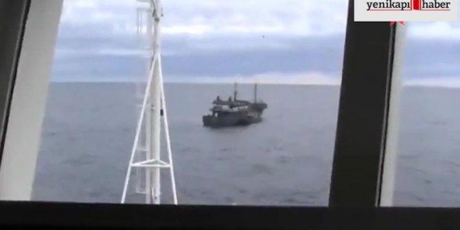 Rusya Kuzey Kore gemisine el koydular