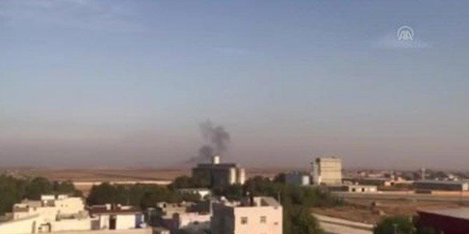 TSK'nın atışı YPG'li teröristin kamerasında!