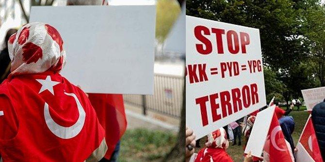 Washington'da Türkler Beyaz Saray'a yürüdü