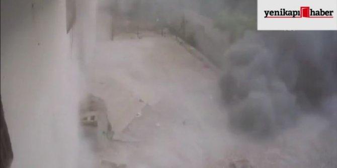 YPG/PKK'lıların saldırı anının görüntüleri ortaya çıktı