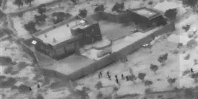 ABD Bağdadi operasyonuna ait görüntüler yayınlandı