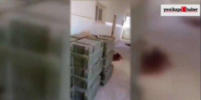 Okul binasında 50 adet anti tank mayını bulundu
